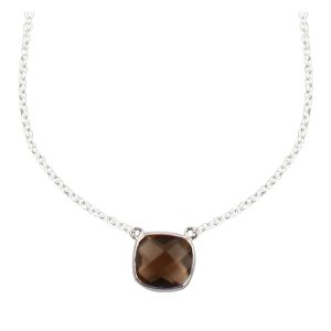 Collier Sissi Smoky Quartz