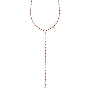 Collier Mimi Y rouge